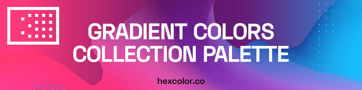 Gradient Colors Collection Palette