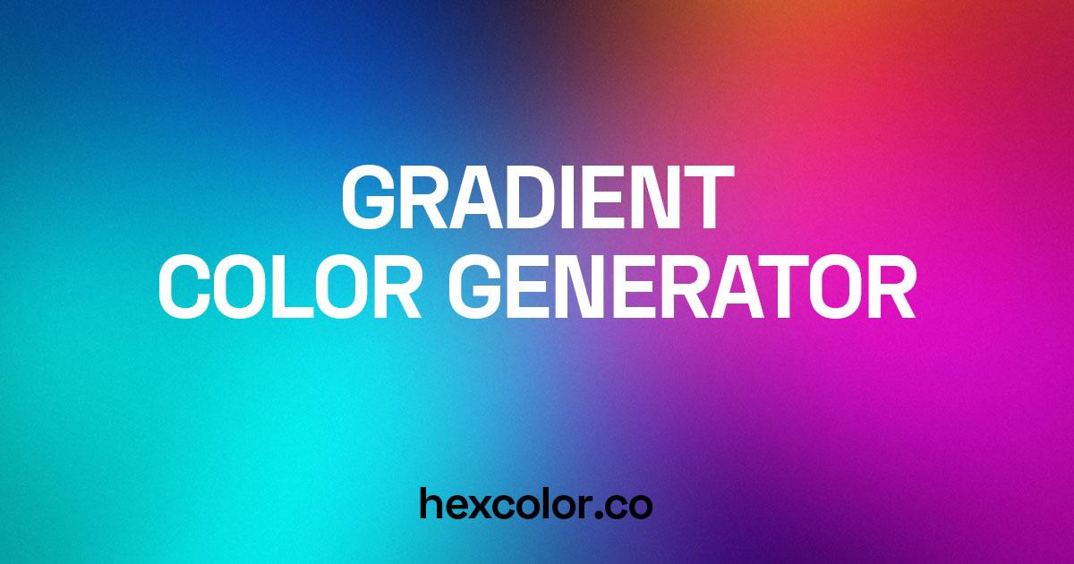CSS Gradient Color Generator