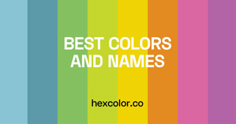 2498 Best Colors and Names