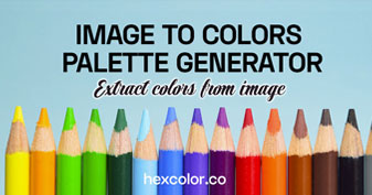 Color Palette Generator from Image