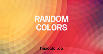Random Hex Color Code Generator